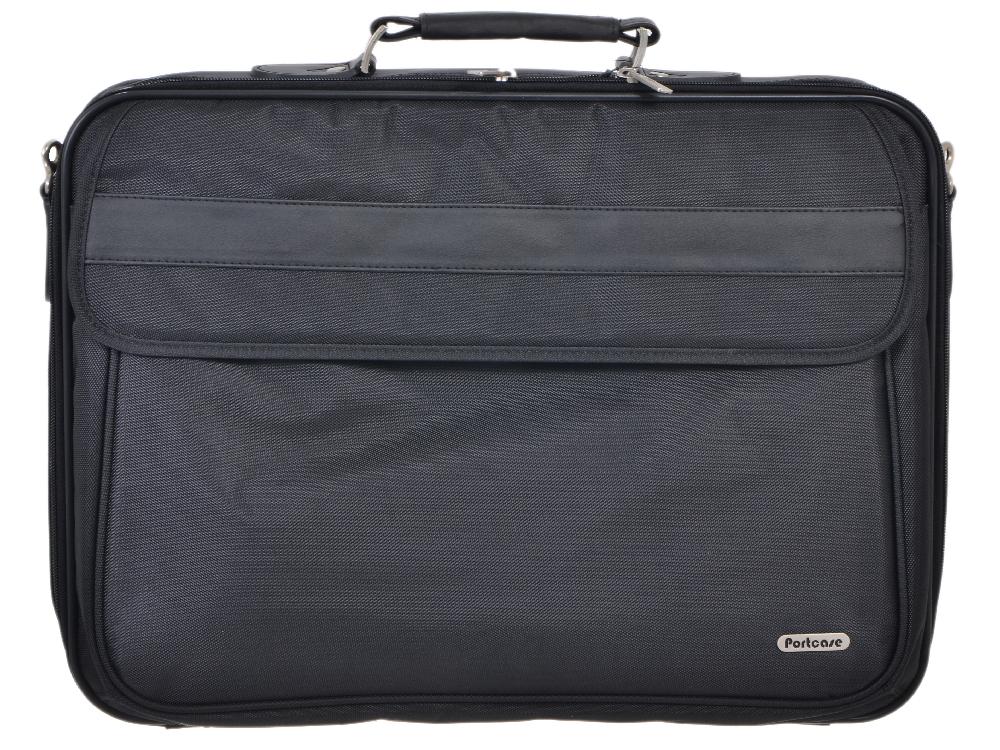 """d81b02ca1c7e Сумка для ноутбука PortCase KCB-X02 до 15.6""""-16"""" (Черный ..."""